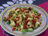 Lundi Express : Salade d'avocat et pois chiches