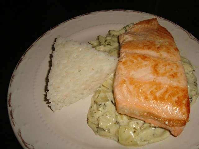 Recettes d 39 oseille et pav de saumon - Cuisiner un pave de saumon ...