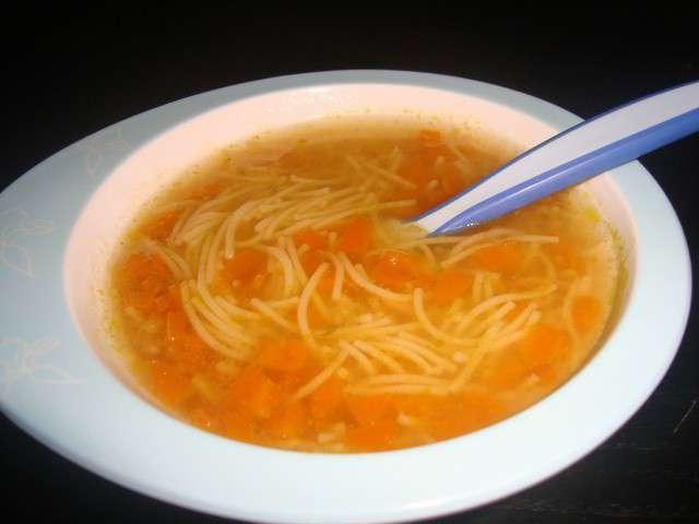 recettes de vermicelle et potage