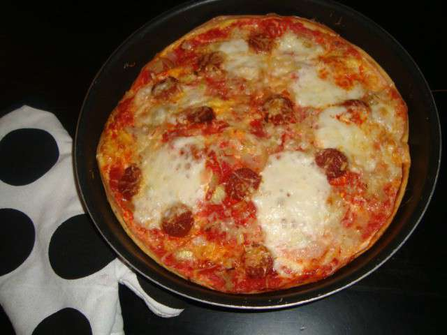 Grande Pizza Omelet Recipe — Dishmaps