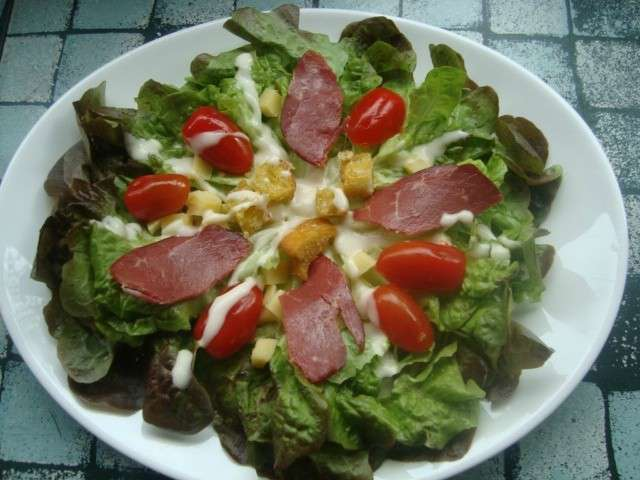 recettes de salade compos e et canard. Black Bedroom Furniture Sets. Home Design Ideas