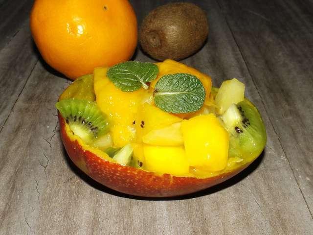 Recettes De Salade De Fruits Et Ananas