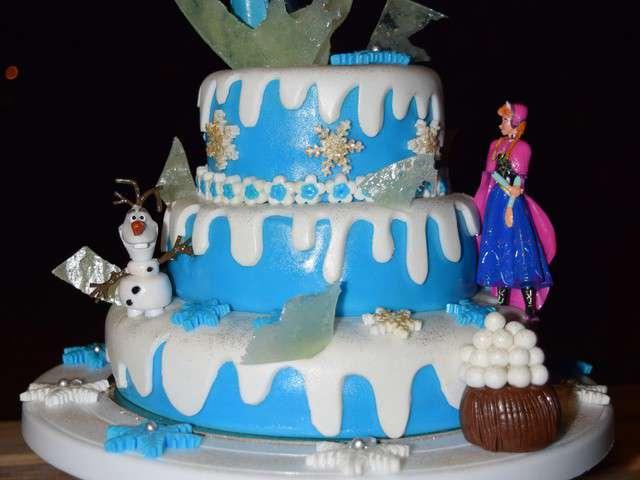 Recettes de reine des neiges et cake - Gateau la reine des neiges ...