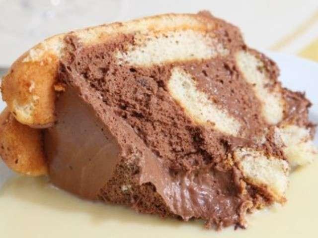 Les meilleures recettes de charlotte au chocolat - Recette charlotte au chocolat ...