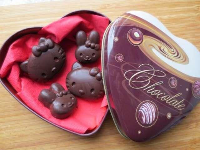 Recettes de chocolat de cammie bento - La maison de hello kitty ...