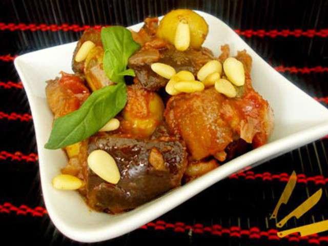 Recettes de caponata de casafabio - Blog cuisine sicilienne ...
