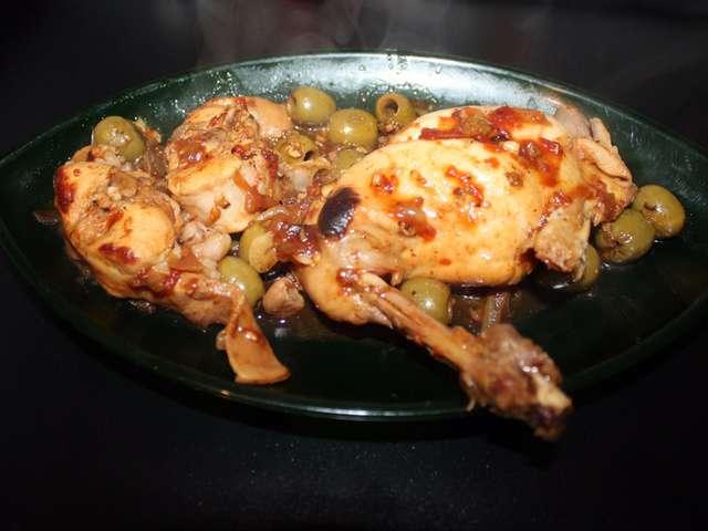 Recettes de lapin aux olives - Cuisine lapin au vin blanc ...