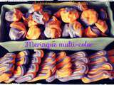 Meringue multi color au thermomix