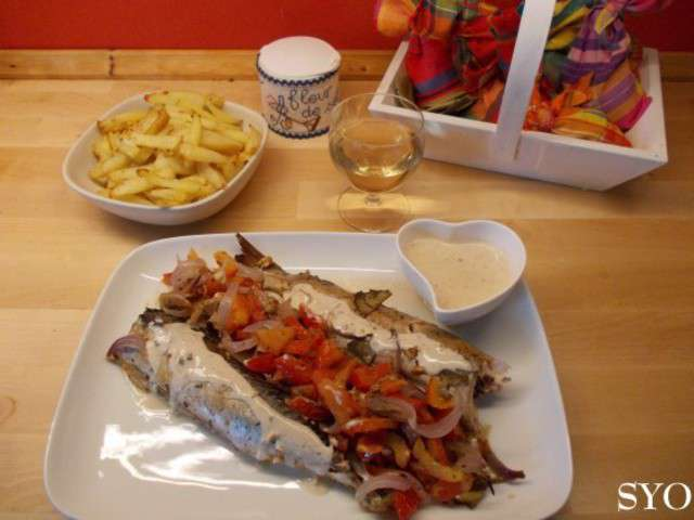 Recettes de maquereaux et sauces - Maquereau grille au four ...