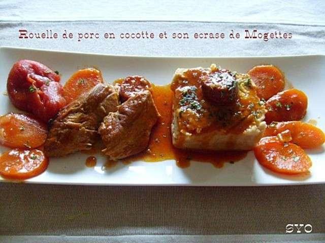 Recettes de mogette 4 - Cuisiner rouelle de porc en cocotte minute ...