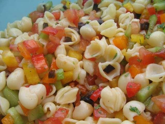recettes de salade de p 226 tes 28