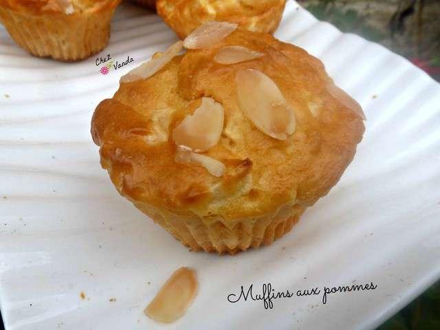 recettes de muffins aux pommes de chez vanda. Black Bedroom Furniture Sets. Home Design Ideas