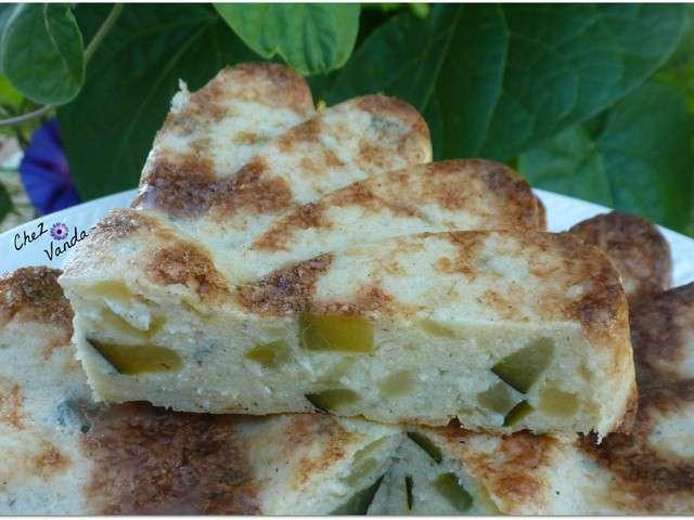 recettes de tarte 224 la courgette de chez vanda