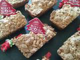 Financiers aux noisettes finition crumble