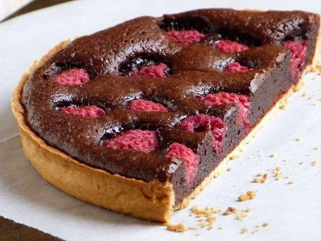 recettes de tarte au chocolat. Black Bedroom Furniture Sets. Home Design Ideas