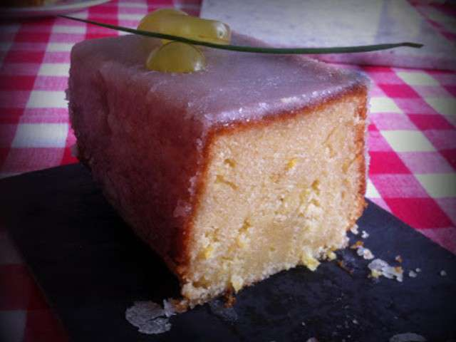 recettes de cake au citron et th. Black Bedroom Furniture Sets. Home Design Ideas
