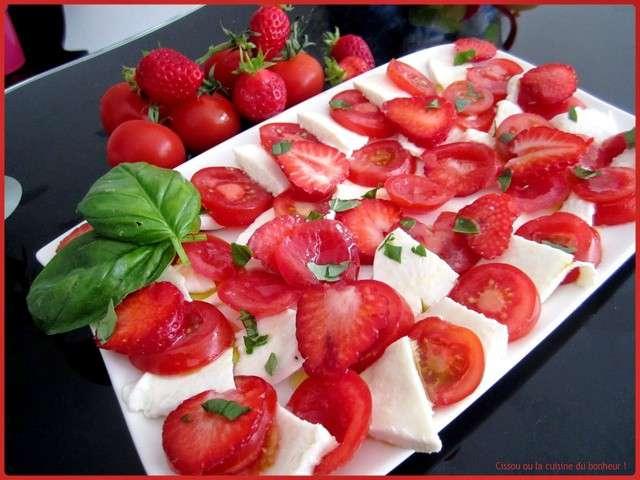 Les meilleures recettes de salades et salade de tomates 8 - La cuisine du bonheur thermomix ...