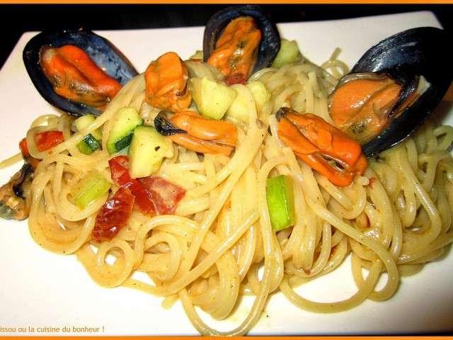 Recettes de moules et spaghetti 2 - La cuisine du bonheur thermomix ...