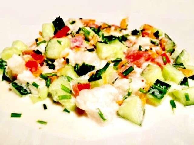 Recette salade tahitienne poisson cru au lait de coco for Salade poisson