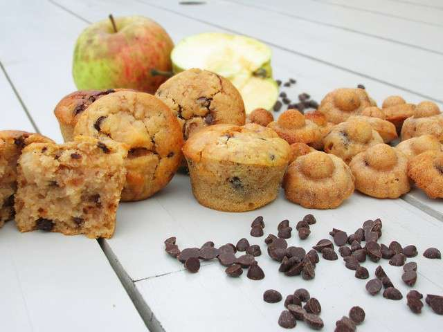 recettes de muffins aux pommes 9. Black Bedroom Furniture Sets. Home Design Ideas