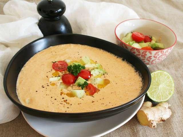 Recettes de lait 47 - Soupe potiron lait de coco curry ...