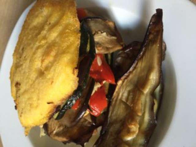 Recettes de l gumes grill s et polenta - Recette legumes grilles au four ...