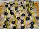 Brochettes de filet mignon, miel olives et citron
