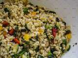 Salade froide d'Ebbly et courgettes