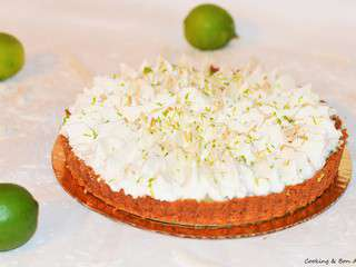 Key Lime – Coconut Pie {Battle Food #41}
