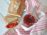 Confiture de fraises (2 ingredients, sans robot)