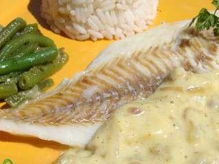 poisson blanc aux echalotes