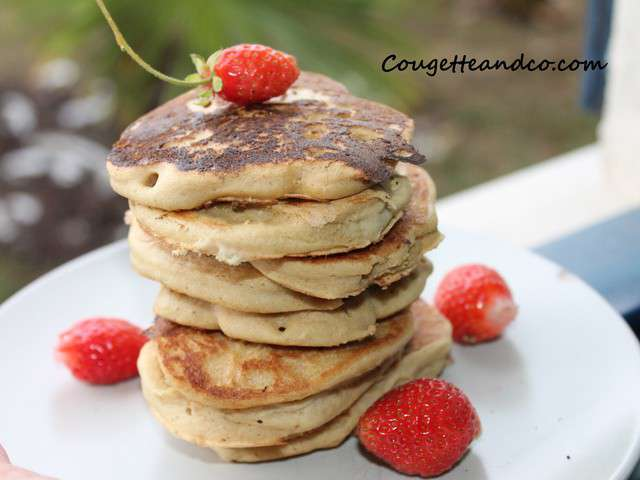 recettes de pancakes de courgetteandco. Black Bedroom Furniture Sets. Home Design Ideas