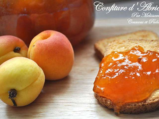 Recettes de confiture d 39 abricots de couscous et puddings - Confiture d abricots maison ...
