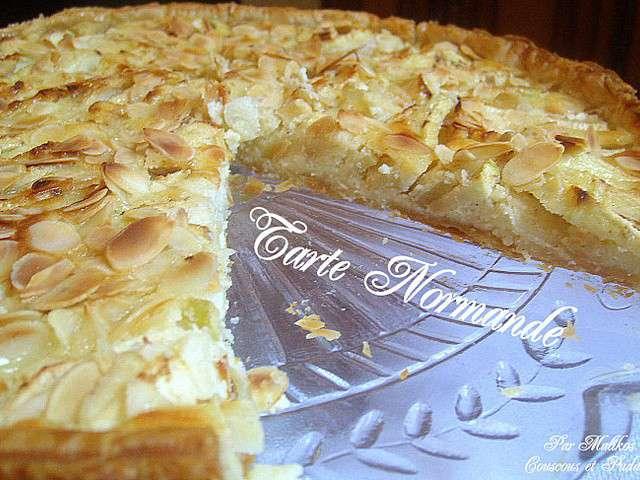 recettes de tarte aux pommes normande de couscous et puddings. Black Bedroom Furniture Sets. Home Design Ideas