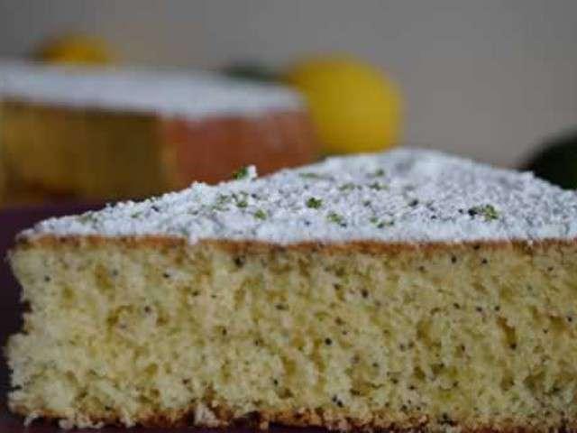recettes de cake au citron et pavot. Black Bedroom Furniture Sets. Home Design Ideas