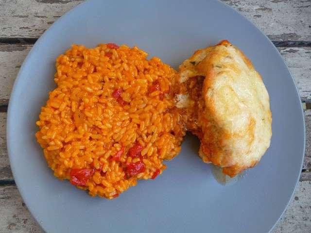 Recettes de risotto et tomates 4 - Blanc poulet au four ...