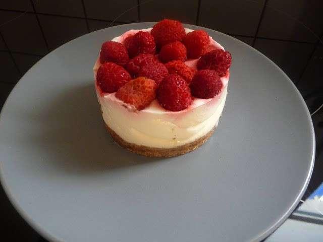 Recettes de cheesecake et framboises 3 - Cheesecake framboise sans cuisson ...