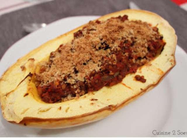 Recettes de courge spaghetti et cuisine v g tarienne - Recette cuisine vegetarienne ...
