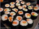 Makis saumon-avocat