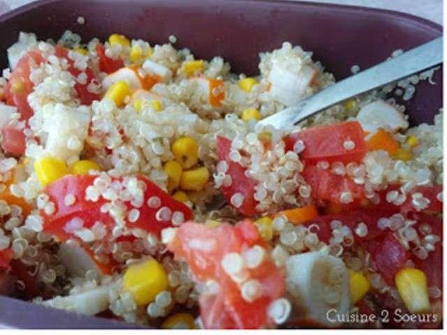 Recettes de salade de quinoa de cuisine 2 soeurs for Cuisine quinoa