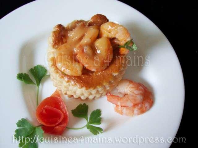 Recettes de crevettes de cuisine 4 mains for Cuisine 4 mains