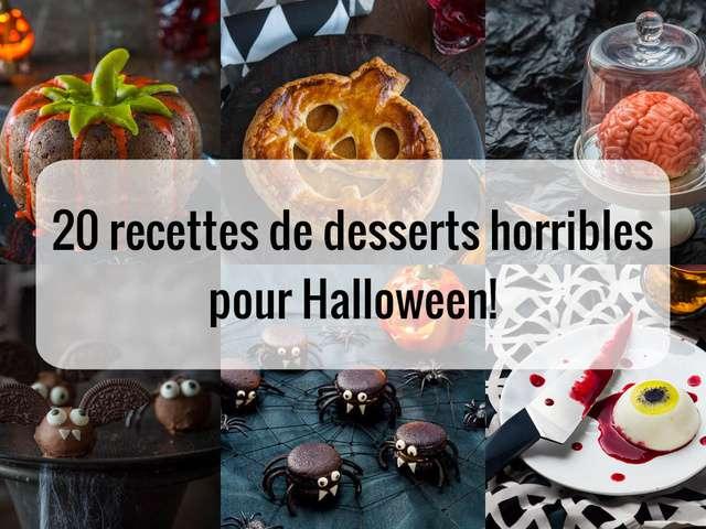 Recettes De Halloween Et Desserts
