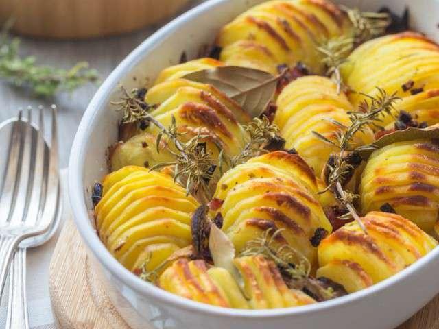 Recettes de pomme de terre de cuisine addict for Rangement pomme de terre cuisine