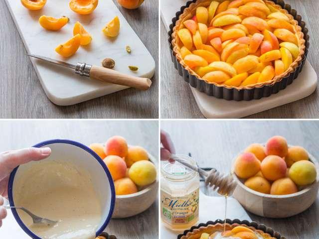 Recettes de tarte aux abricots de cuisine addict for Cuisine addict
