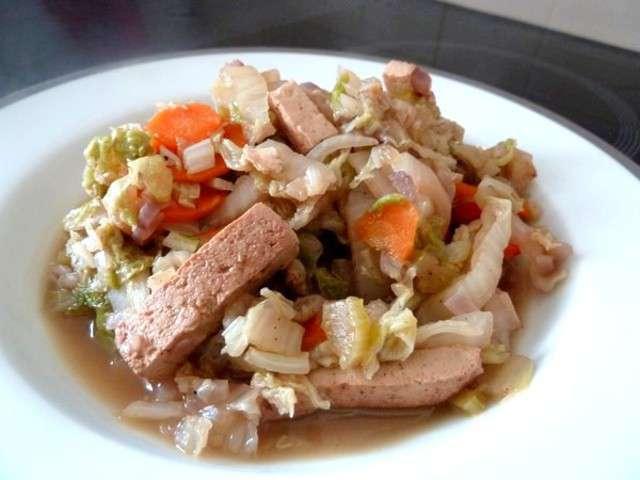 Recettes de chou chinois et tofu - Comment cuisiner le chou chinois ...