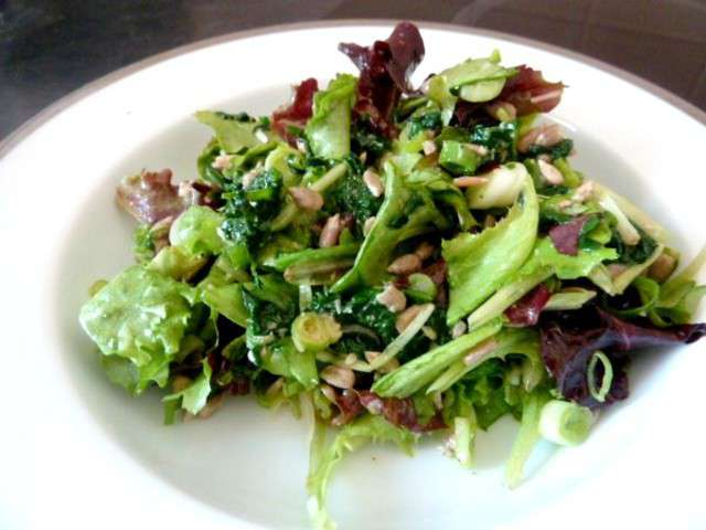 Recettes de salade verte for Eliminer les vers des salades