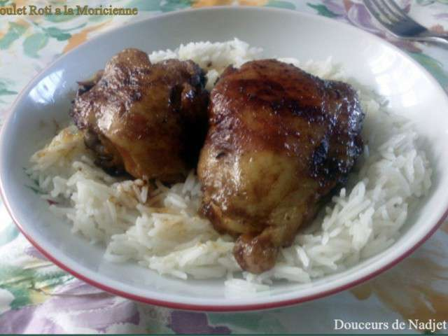 recettes de poulet r ti et riz. Black Bedroom Furniture Sets. Home Design Ideas