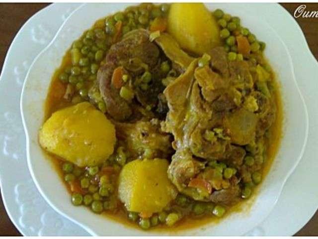 Les meilleures recettes de petit pois et tajine for Petit pois cuisine