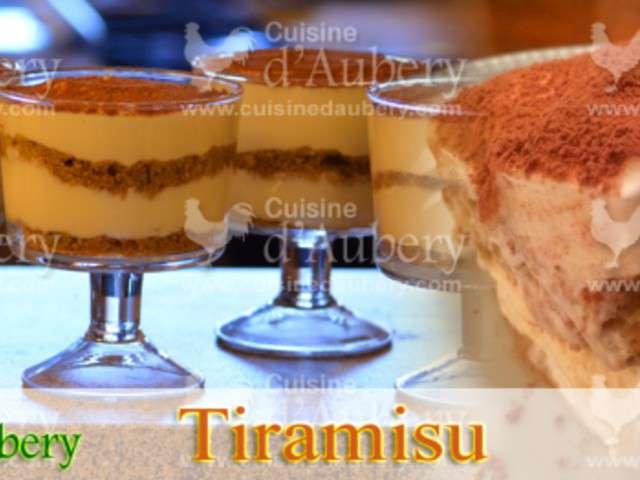 Recettes de verrines de cuisine d 39 aubery - Cuisine de bernard tiramisu ...