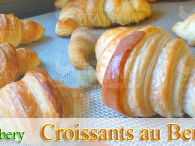 Recettes de beurre de cuisine d 39 aubery - Recette croissant au beurre ...